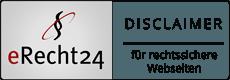erecht24-disclaimer